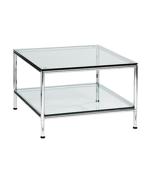 Rio coffee table with shelf 600x600 bdk office furniture for Coffee table 600x600