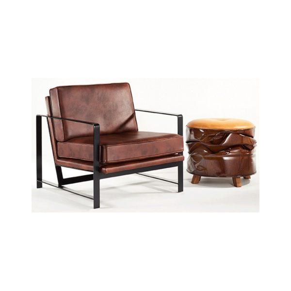 Moxie Ottoman (pop Art Sculptural Seat)