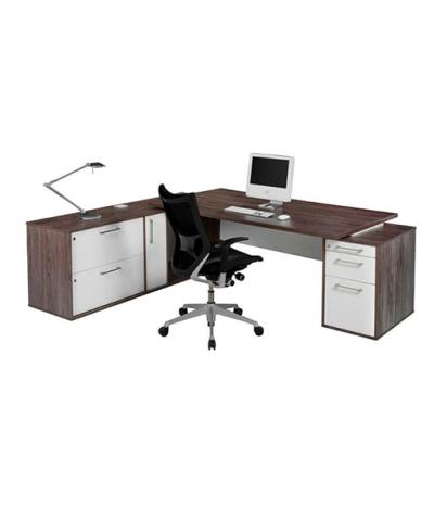Evolution L-Shape Combo Executive Desk