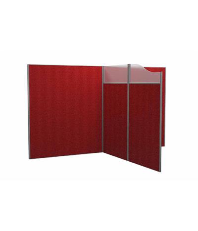 I S Floor Standing Screens Glass / Fabric