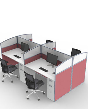 Floor & Desk Based Screens with Optional Perspex Tops