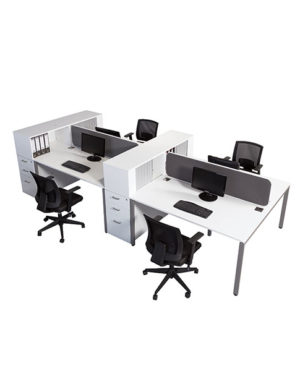 Evolution Benching Workstation with Multi Storage Units