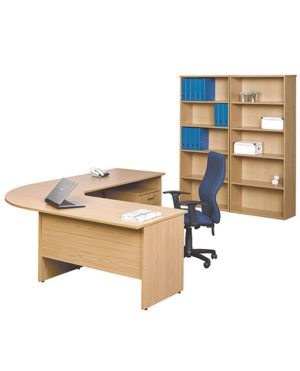 Discovery L-Shape Desk with Extension & Link