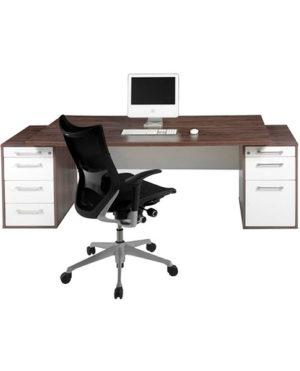 Evolution Double Pedestal Executive Desk