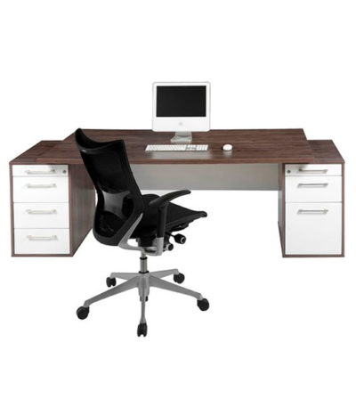 Evolution Double Pedestal Executive Desk