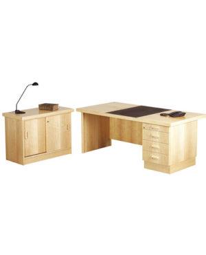 Execuline Single Pedestal Desk