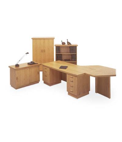 Execuline Double Pedestal Desk