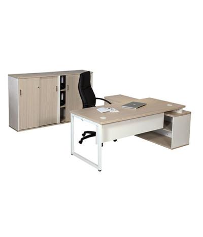Titan L-Combo Desk to Pedenza