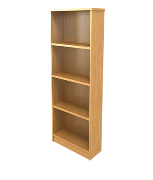 The Downing Street Executive Curio Desk: Universal Storage - 4 Tier Hinged Door Bookcase