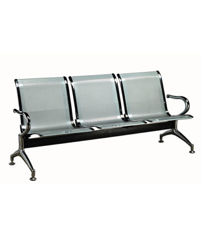 Public Seating Standard Steel Heavy Duty – 3 Seater