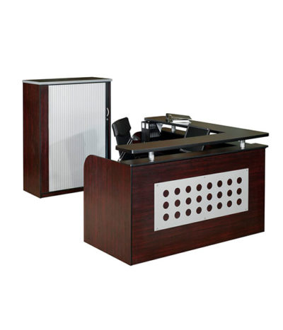 Hunley L-Shape Reception Counter 1600×1600 / 1800×800