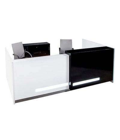 Barbados Rectangular Reception Counter 2700Wx800D / 3600Wx800D