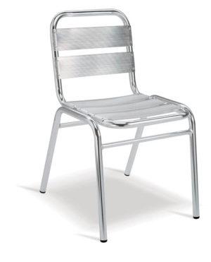 Aluminium Range – Sting Café Side Chair