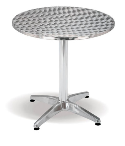 Aluminium Range – Jupiter Round Café Table – 710mmH
