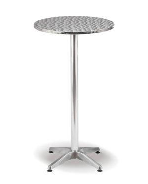 Aluminium Range – Diablo Bar Table – 1100mmH
