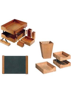 Wooden Executive Desk Set