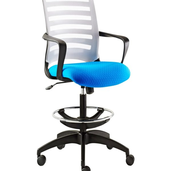 Barrier Draughtsman Chair (Netted / Upholstered Backrest)